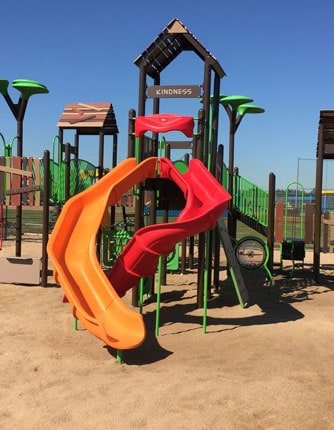 pea gravel playground stone sand playground safety surfacing playquest